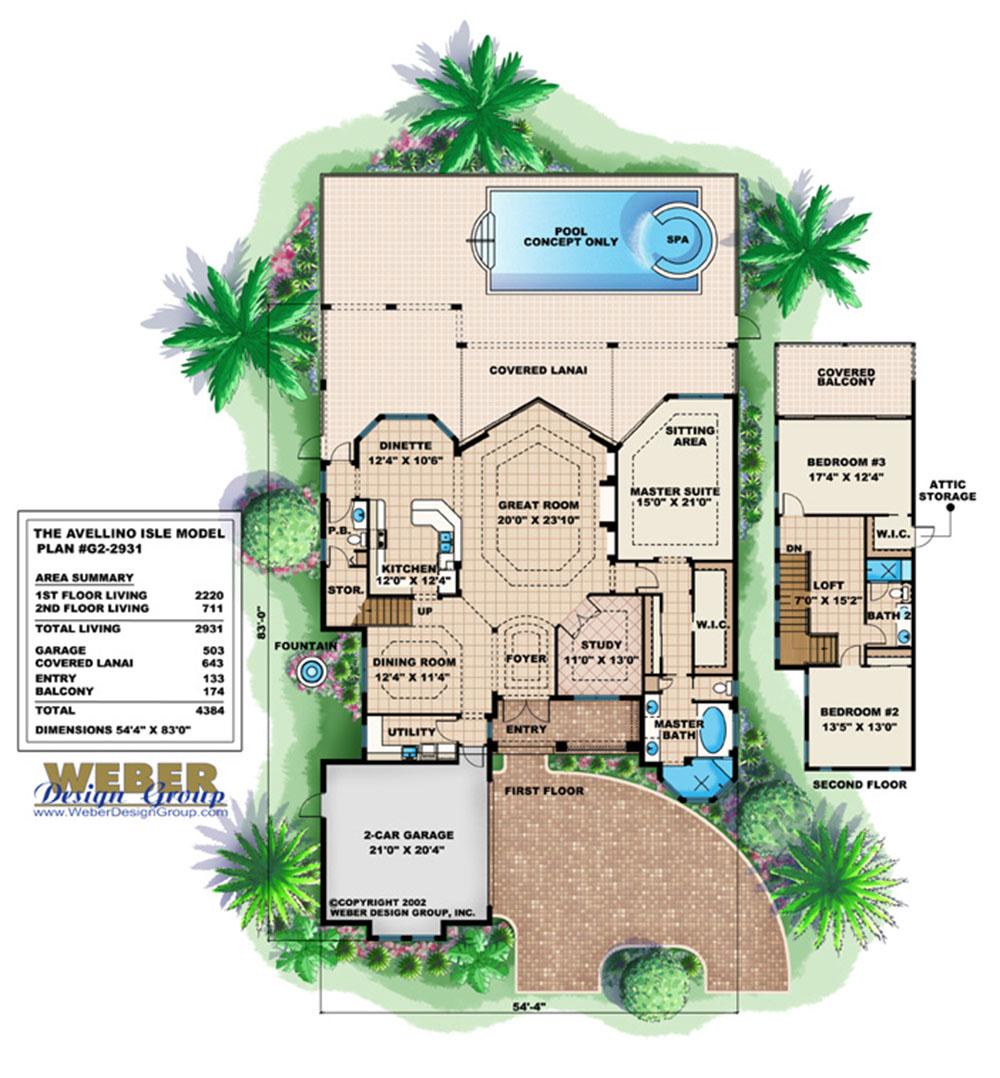 Narrow lot home plans stock narrow house plans floor for Weber design group