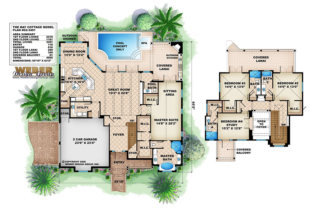 Tropical house plans escortsea for Weber house plans