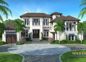 admiral house plan - Waterfront House Plans