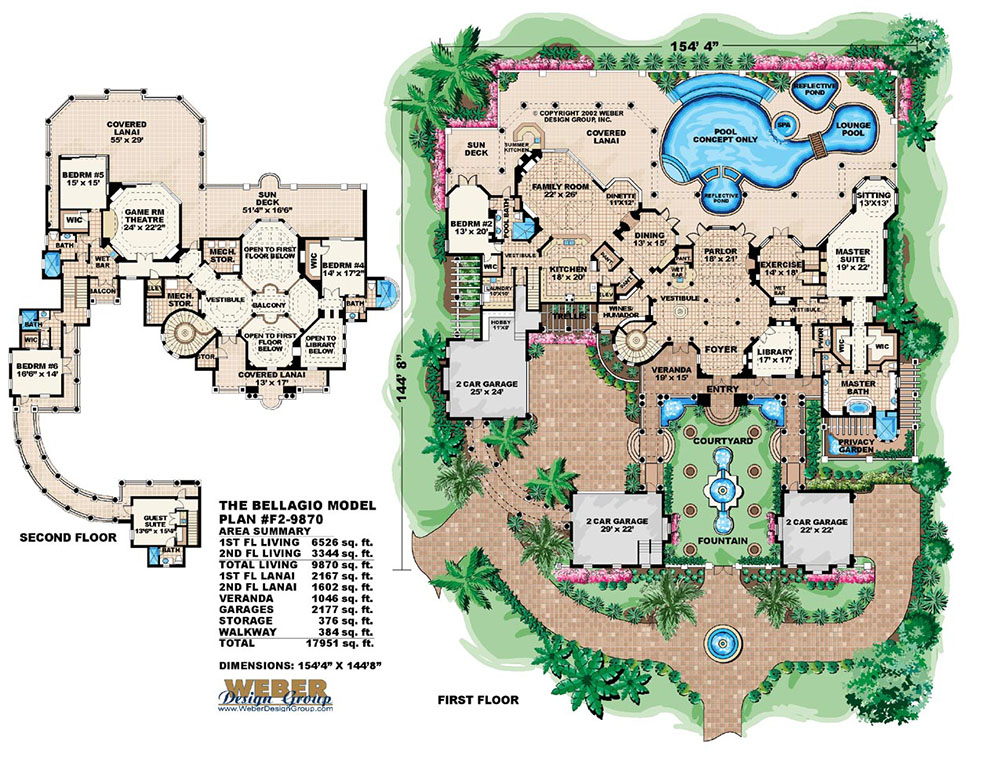 Bellagio floor plan bellagio rooms suites bellagio floor for Weber design