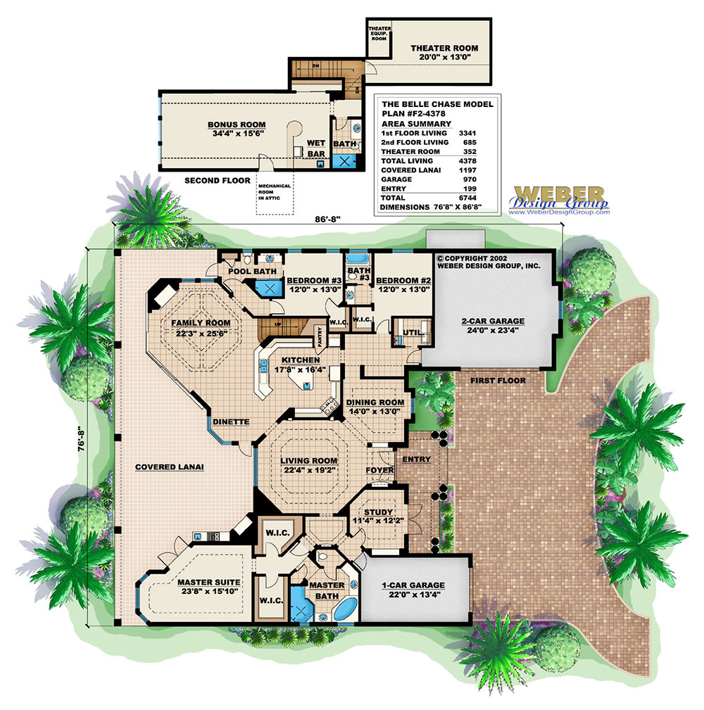 Golf Course Floor Plans