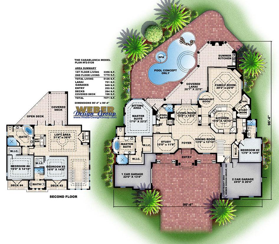 Texas House Plans Contemporary Coastal Texas home Floor Plans