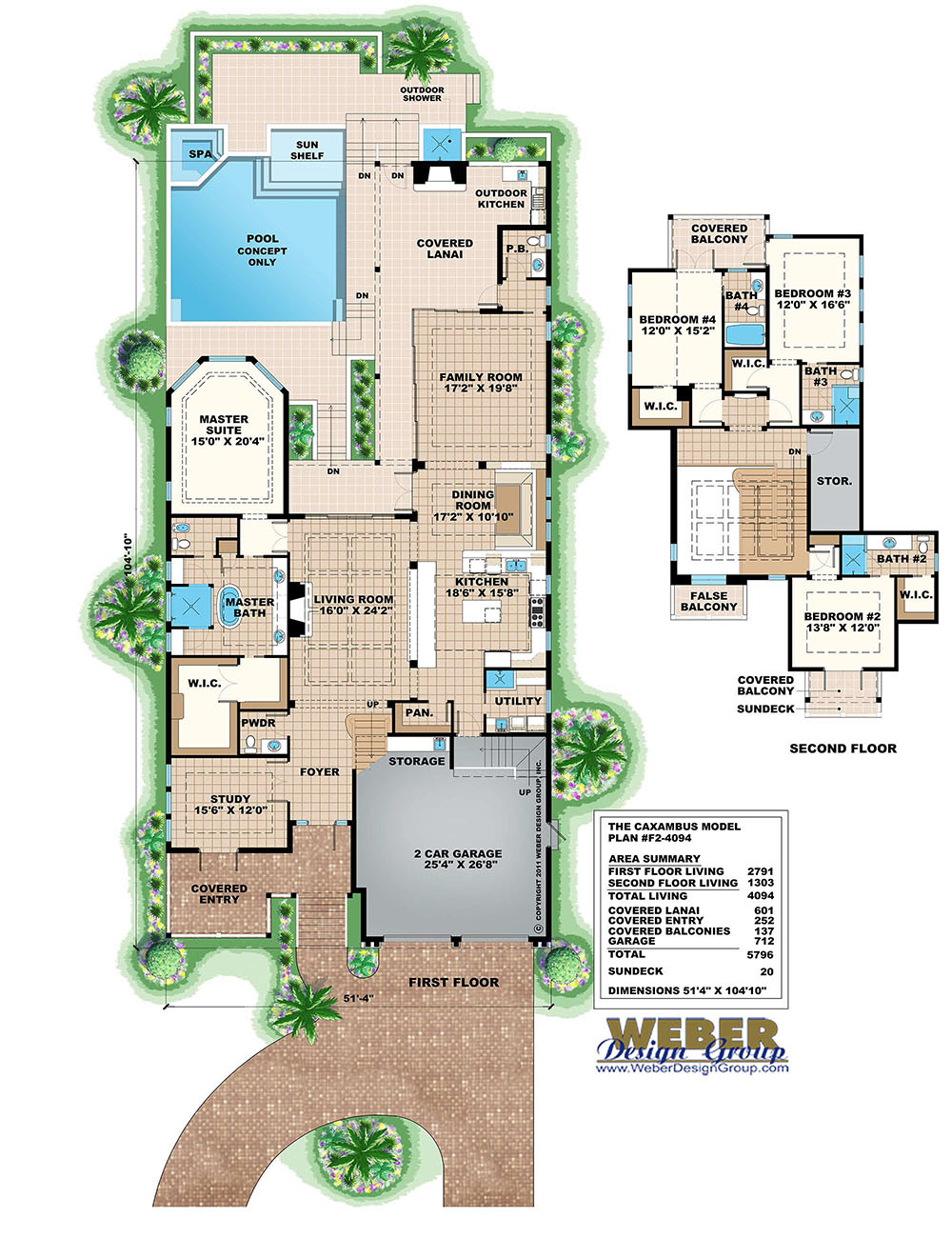 Casa Hermosa House Plan Weber Design Group