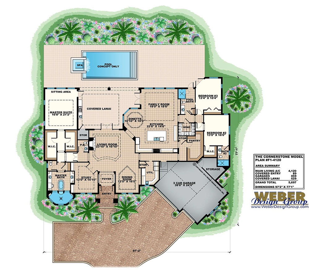 Contemporary House Plan With Photos 1 Story Southern