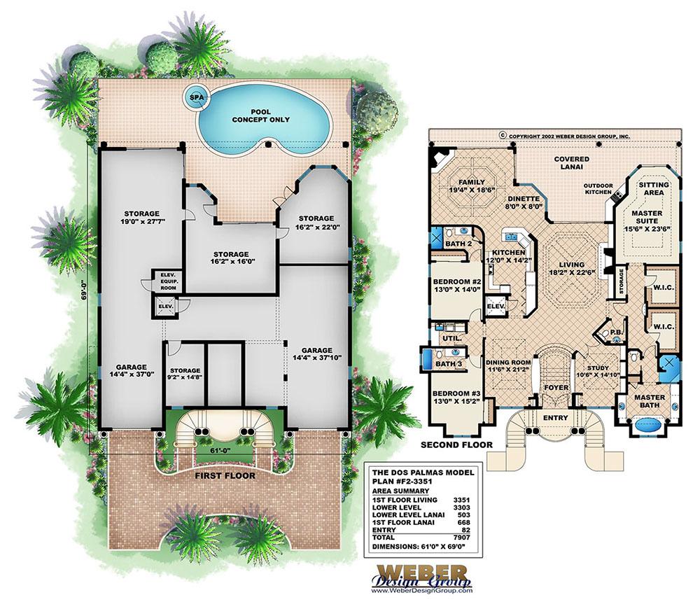100 Weber Design Group Home Plans One Story Beach
