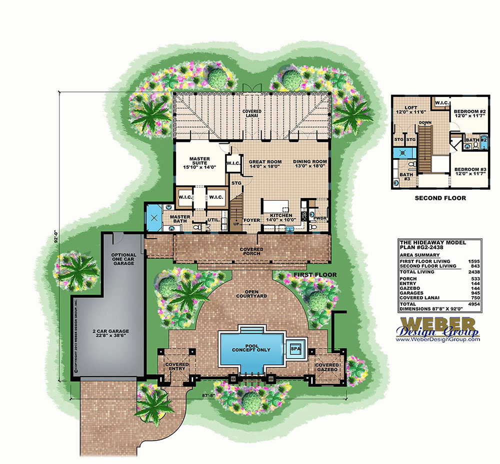 house plans with courtyards luxury home plans with photos hideaway house plan