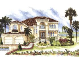 Catania I House Plan