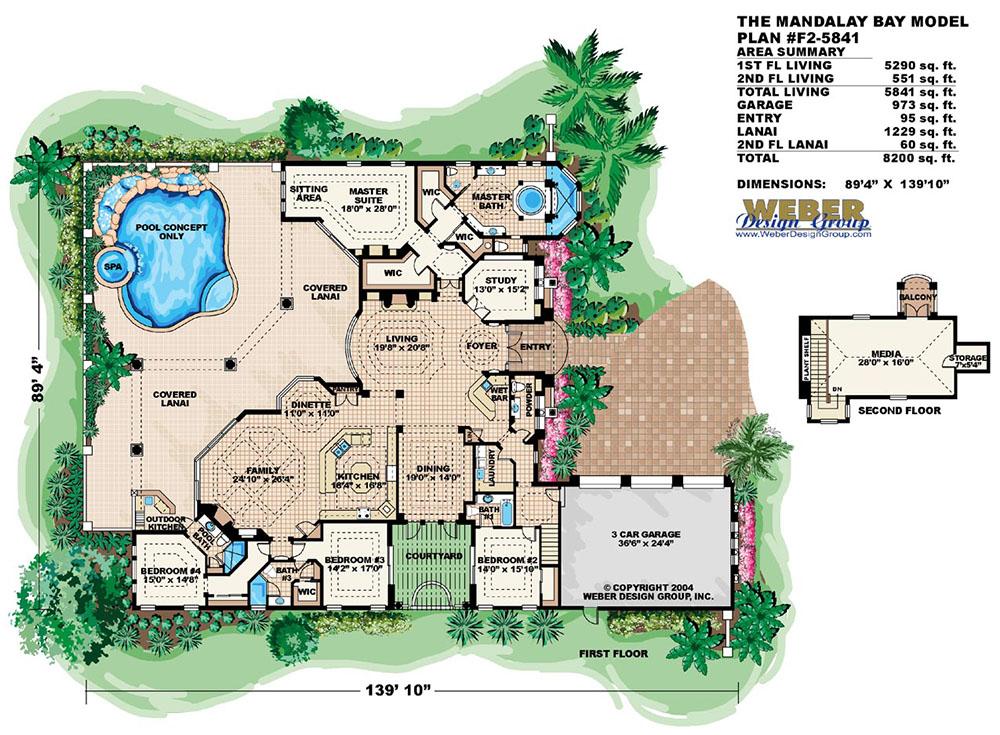 Mandalay bay floor plan floor matttroy for Bay house plans