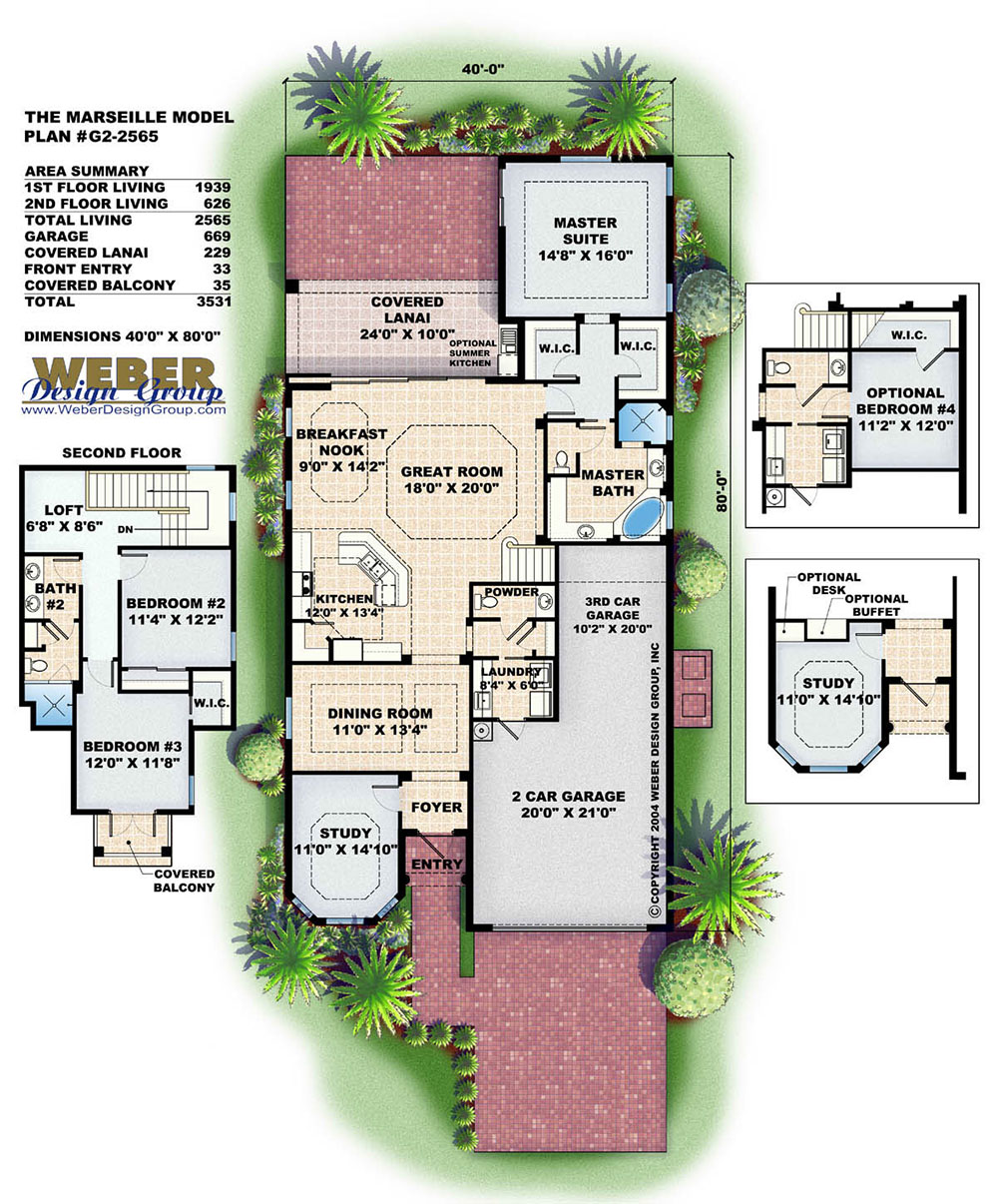Morro bay home plan weber design group for Weber house plans