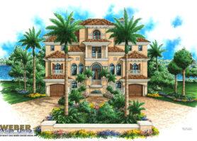 Casa Real Nueva House Plan