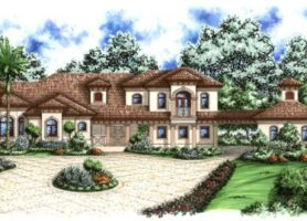 Santorini Manor Home Plan
