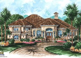 Mediterranean House Plans Luxury Mediterranean Home Floor Plans