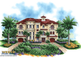 Castello Dal Mare House Plan