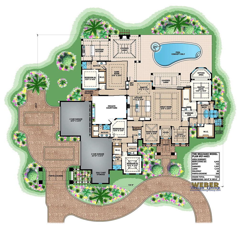 Golf course house plans escortsea for Golf course house plans