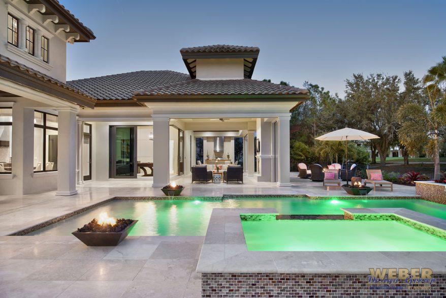 Mediterranean house plan luxury mediterranean home floor plan for Luxury pool house plans