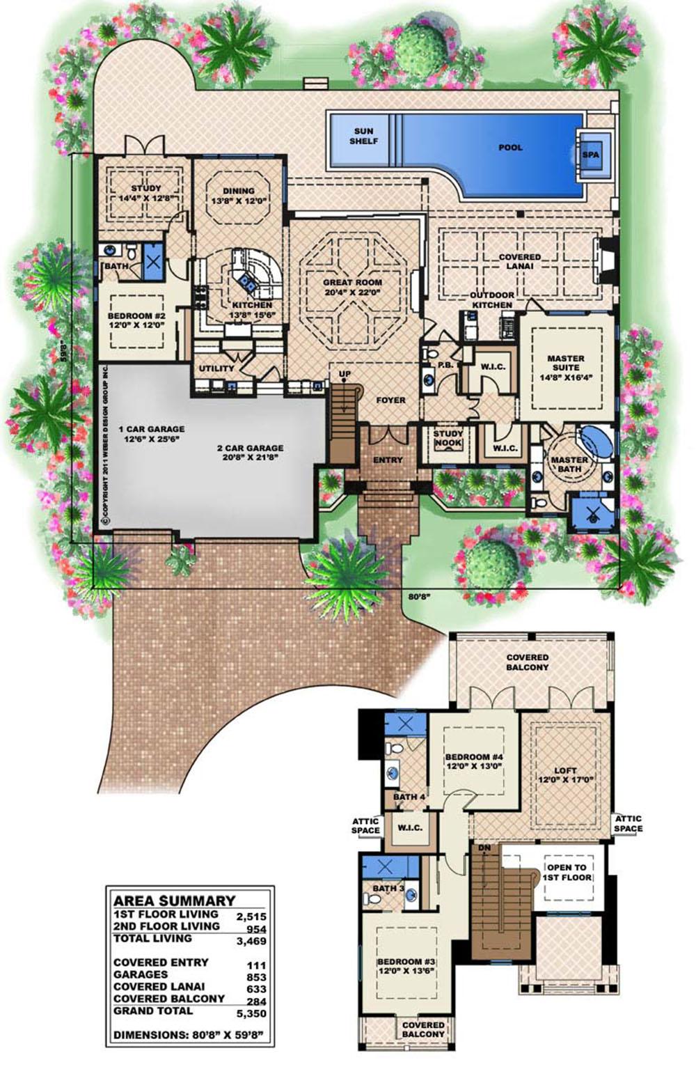 Mustique Home Plan Coastal House Plan Designed For