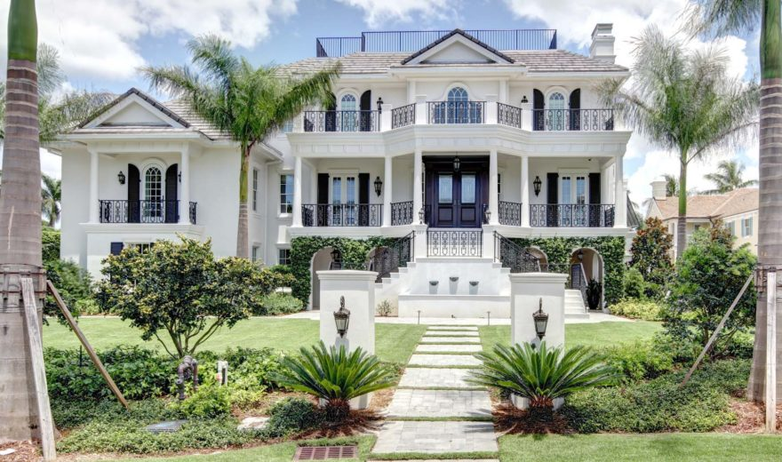 Prestige House Plan Weber Design Group Naples Fl