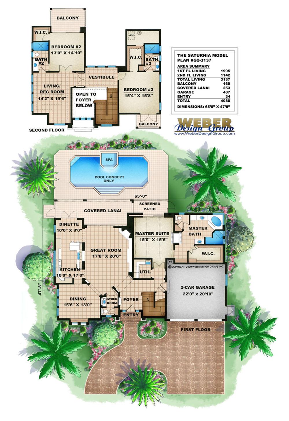 Cornerstone House Plan Weber Design Group