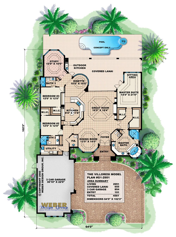 villoresi house plan weber design group