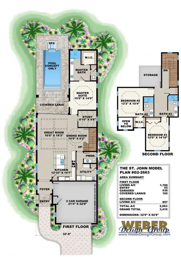Mustique house plan weber design group for Weber house plans