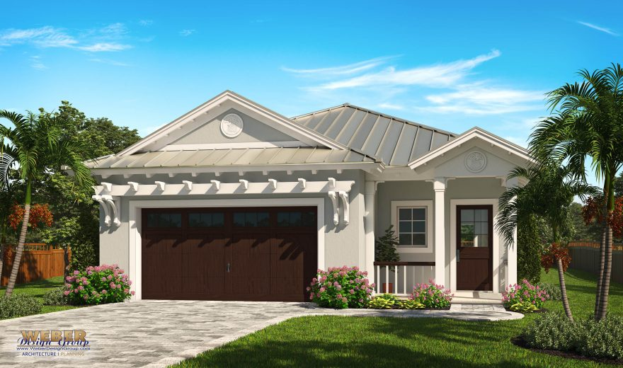 Ocean ridge house plan west indies style narrow lot for West indies style house plans
