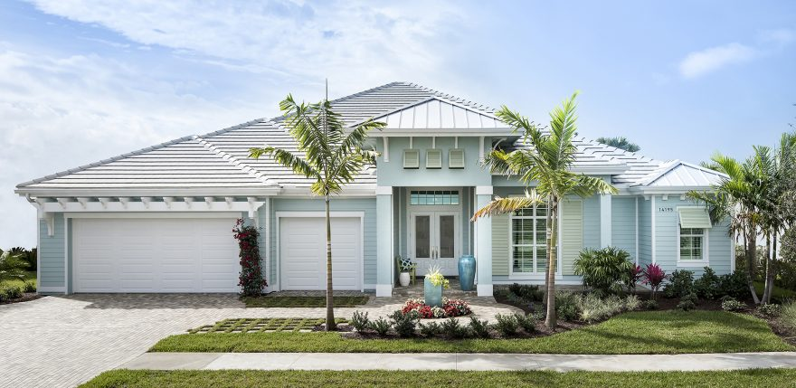 2017 parade of homes winner high tide model in naples for West indian style house plans