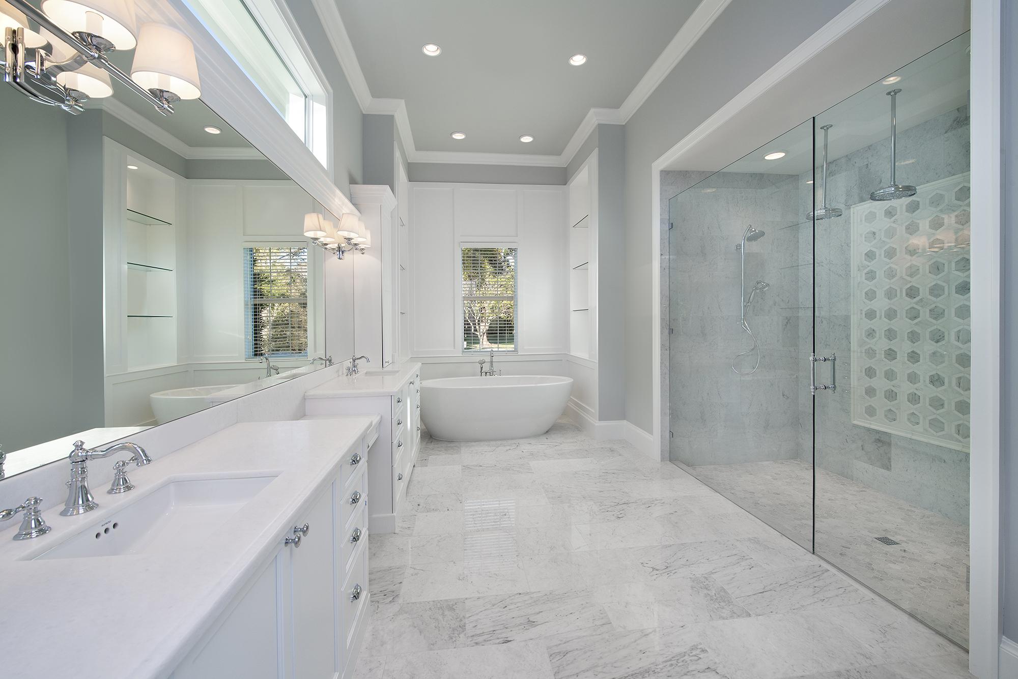 master bathroom design pic