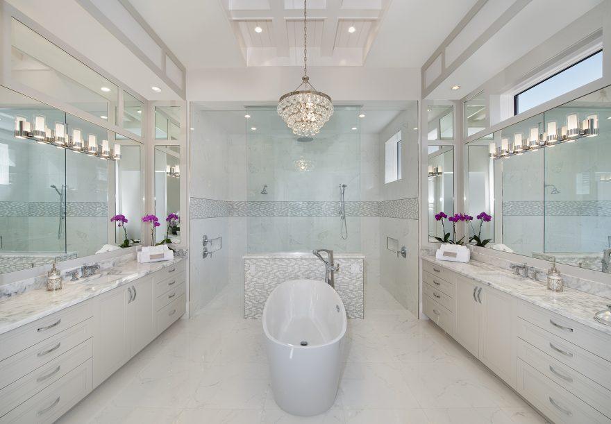 10 Spa Bathrooms Mom Will Love