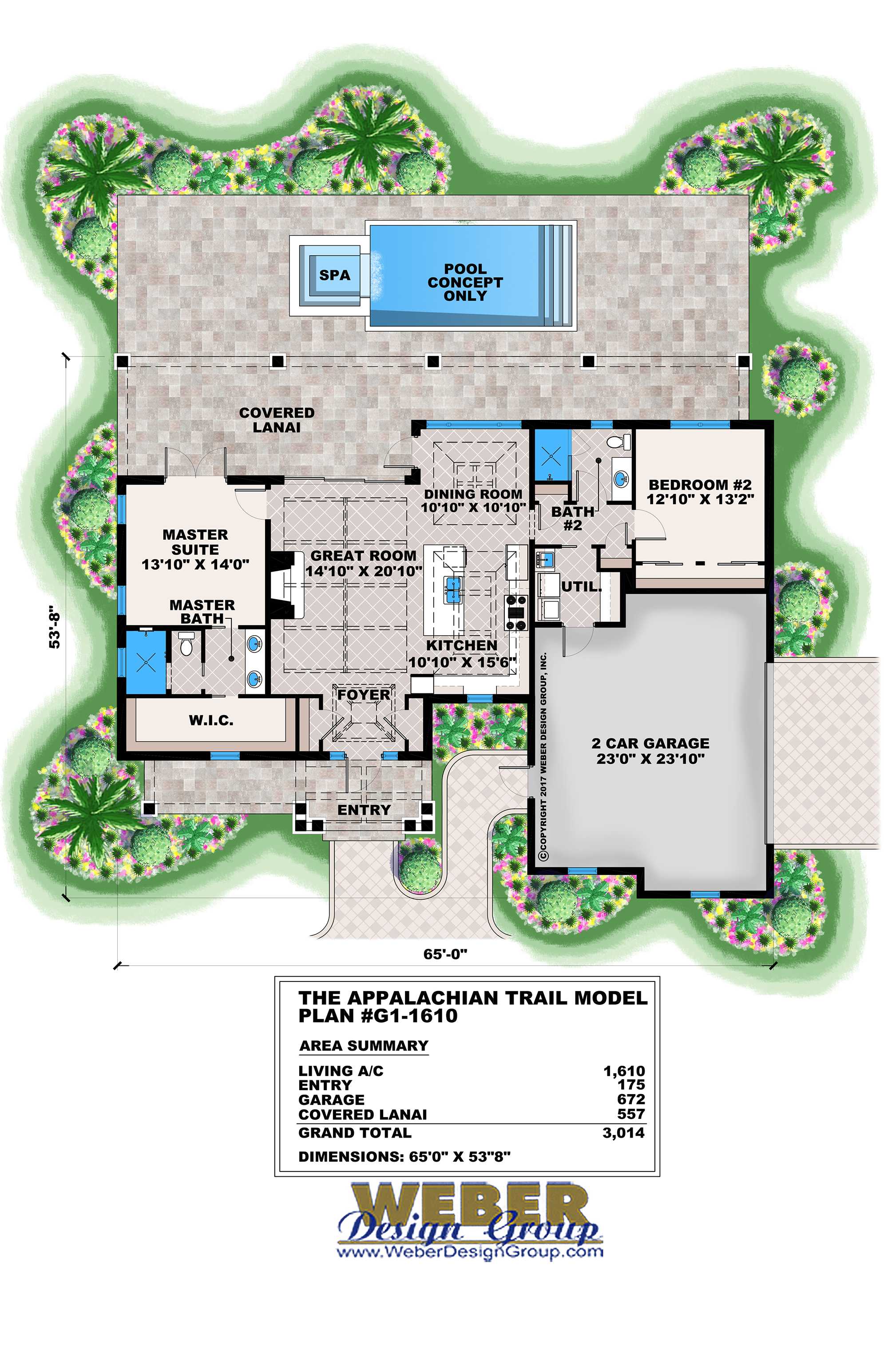 Craftsman Style House Plan Small Tiny Home Floor Plan