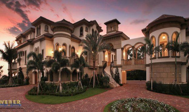 naples florida mediterranean mansion style architecture