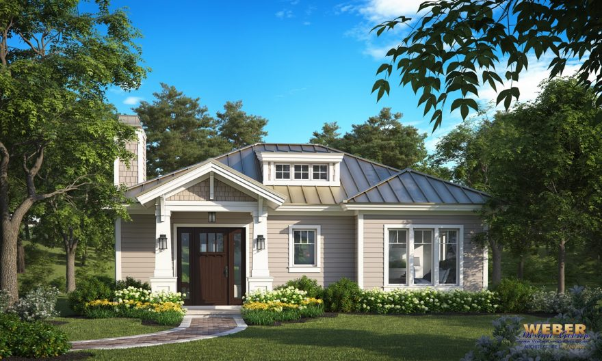 Sweetwater Creek Home Plan Front Elevation