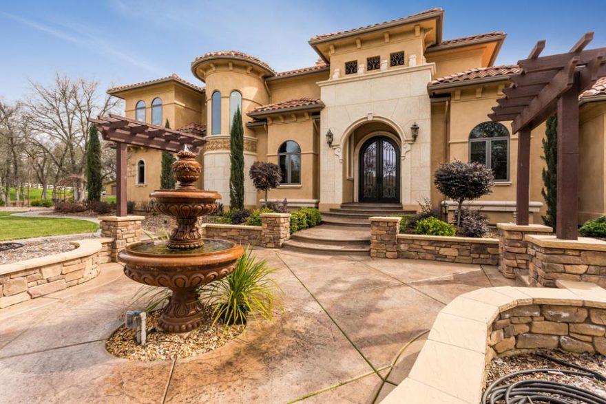 mediterranean house plan built in california - weber design group