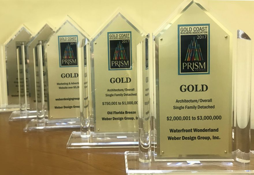Weber Design Group Awarded Five 2017 GCBA Prism Awards