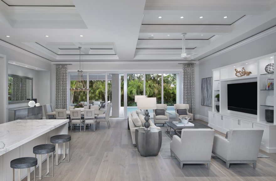 In the News:  Borelli Sells Park Shore Furnished Spec Home Designed by Weber