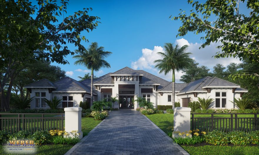 In the News:  Pine Ridge Estates spec home designed by Weber Design Group under construction