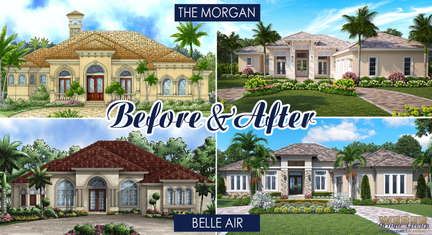 Before-and-After:  Two house plan facelifts revealed!