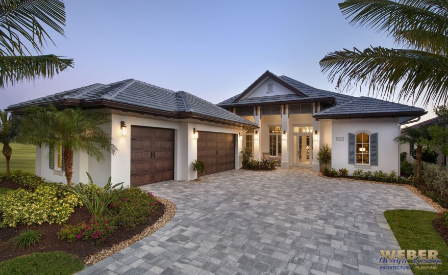 Tidewater House Plan. This Single Story Caribbean Inspired Home Plan Offers  3,527 Square Feet And Includes Three Bedrooms, Three Full Baths And  One Half ...