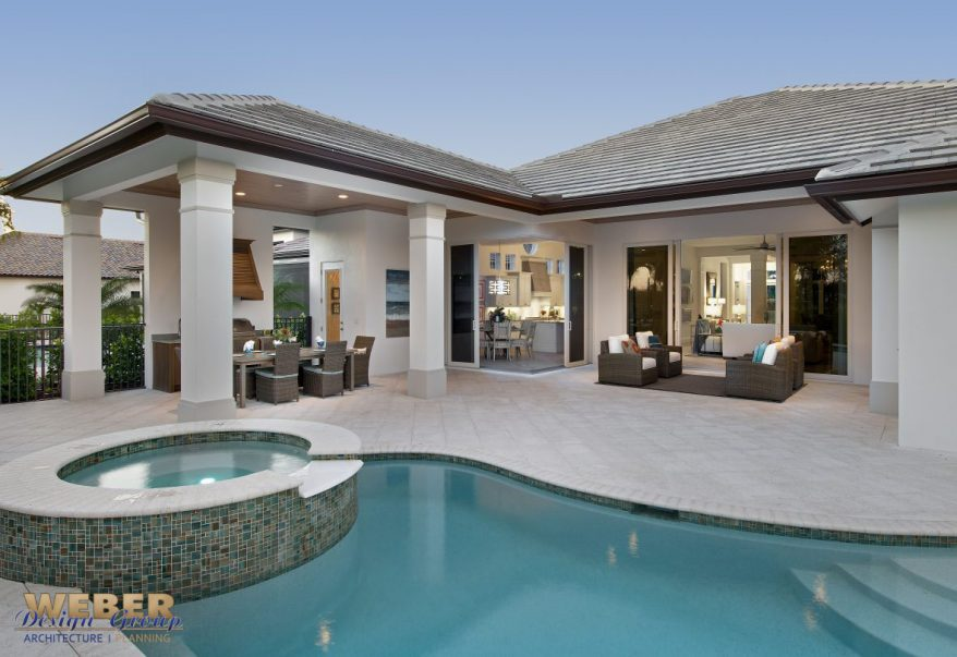 Tidewater vacation home coastal contemporary weber for Tidewater home designs
